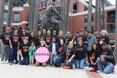 donor network west sf giants 2019