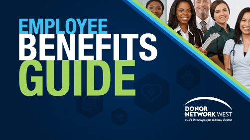 donor network west employee benefits