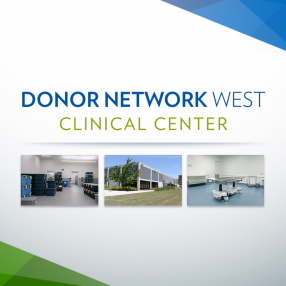 donor network west clinical center