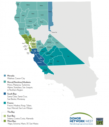 donor network west map