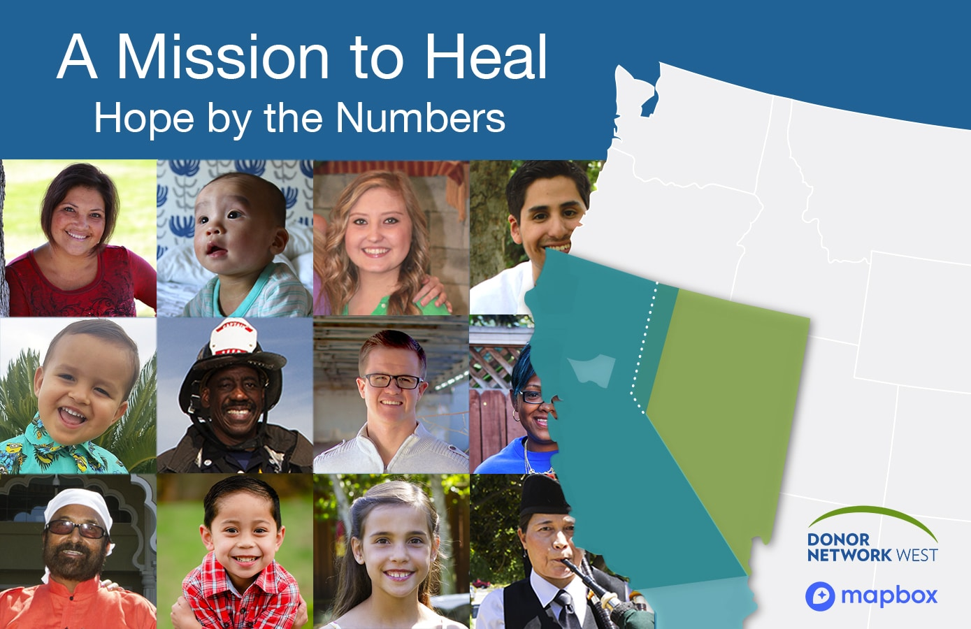 A Mission to Heal: A Donor Network West and Mapbox Innovative Collaboration
